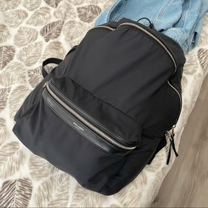 Saint Laurent Foldable City backpack in Nylon